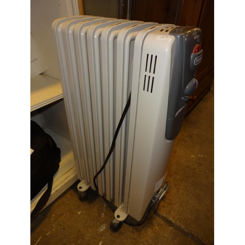 38 - Delonghi Electric heater...