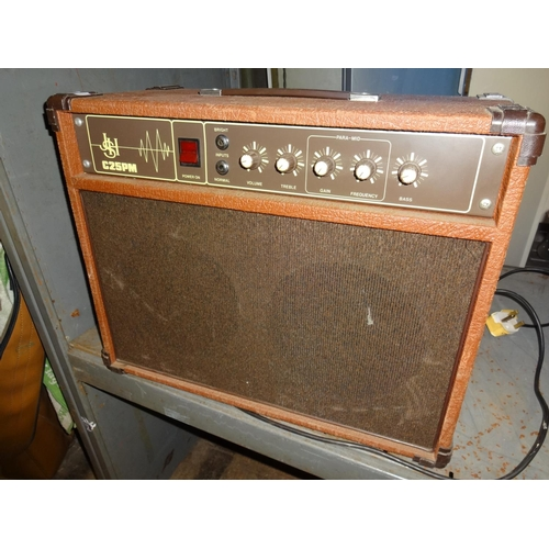 30 - Guitar amp JSH C25PM in working order...