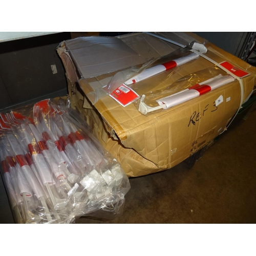 36 - Box of England flags, all individually wrapped...