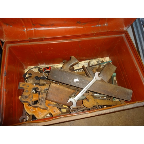 43 - Large trunk of tools...
