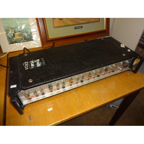 22 - HH Electronics 5 channel guitar amp...