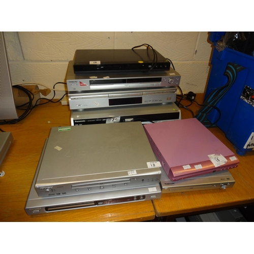 18 - (Ref 2) Quantity of DVD players 9 in total...