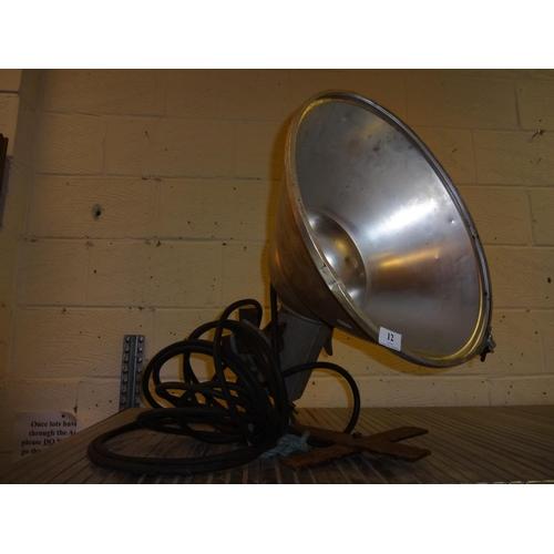 12 - Industrial lamp...