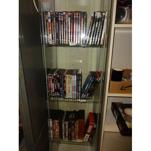 37 - (Ref 2) 3x Shelves of Dvds some box sets...