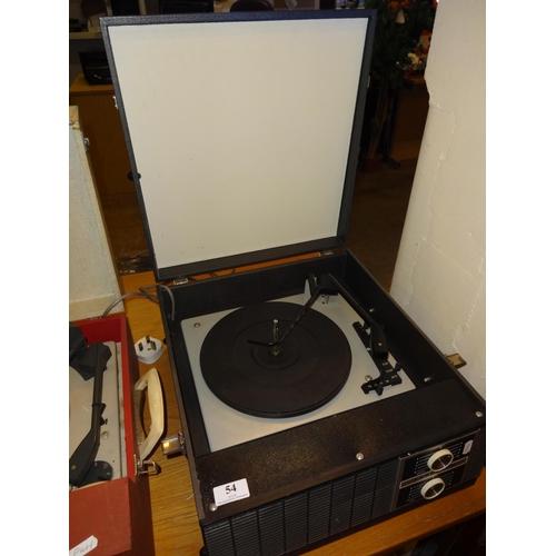54 - Vintage Ferguson record player...
