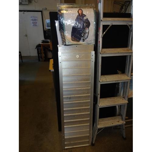 1 - Set of disable/wheelchair aluminium ramps, wheely mac sleeeved sealed...