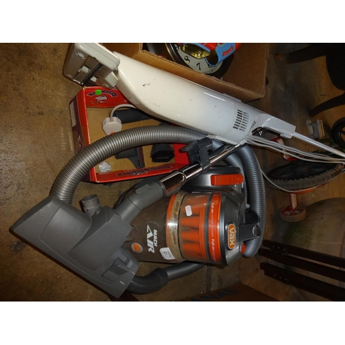 51 - Vax bagless vacuum cleaner plus a floor cleaner, not tested sold as seen...