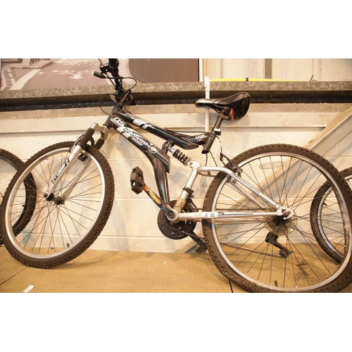 26 - Special Edition DS Dunlop Sport mountain bike with full suspension, 18 gears. This lot is not availa...
