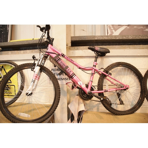27 - Ladies Recall Apollo mountain bike with front suspension 21 speed. This lot is not available for in-...