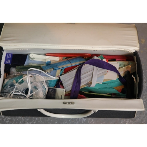 58 - Box of haberdashery items.P&P Group 1 (£14+VAT for the first lot and £1+VAT for subsequent lots)...