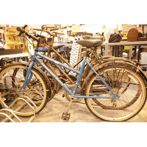 1B - Ladies Diamondback trail bicycle. This lot is not available for in-house P&P.