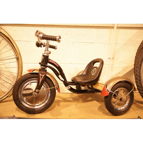 3 - Childs Schwinn trike. Not available for in-house P&P...