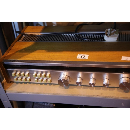 33 - Eagle R2020 tuner amplifier. Not available for in-house P&P....