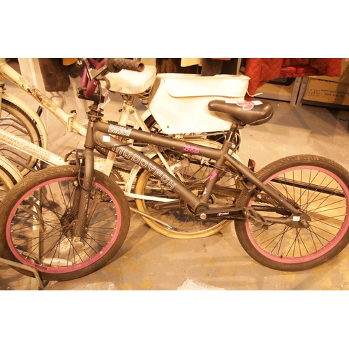 13 - Child's Double Deuce Muddyfox bike. Not available for in-house P&P....