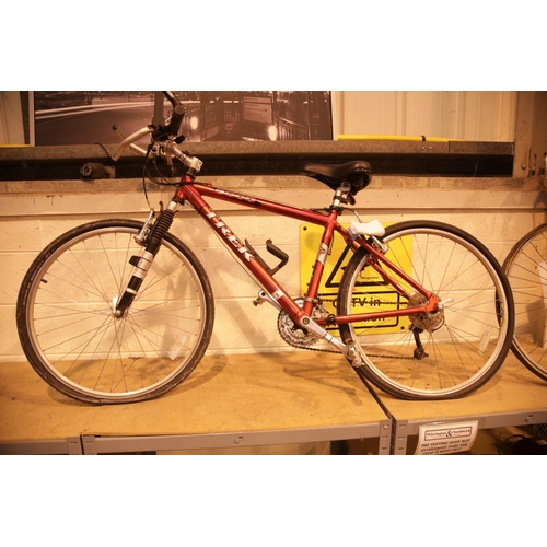 5 - Trek 6000 front suspension mountain bike. Not available for in-house P&P....
