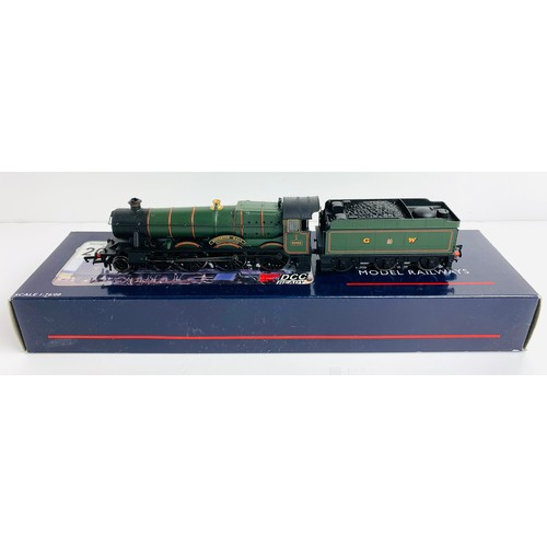 2001 - Bachmann / Olivia's Trains 31-777 Hall Class 6962 Soughton Hall GW Green Livery DCC Ready - Boxed. P...