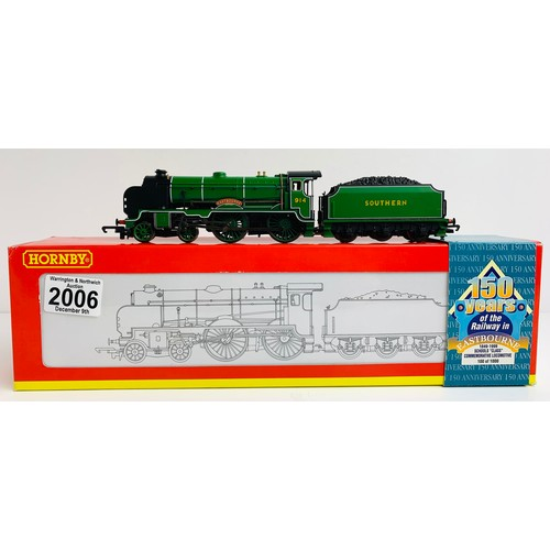 2006 - Hornby R2144 SR 4-4-0 Schools 'Southern' 914 'Eastbourne' Commemorative Edition 100 of 1000 - Boxed ...
