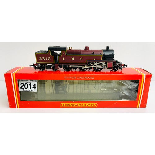 2014 - Hornby R505 LMS 2-6-4T Class 4P Loco - Boxed P&P Group 1 (£14+VAT for the first lot and £1+VAT for s...