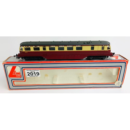 2019 - Lima 205133 BR Red/Cream Rail Car Loco - Boxed P&P Group 1 (£14+VAT for the first lot and £1+VAT for...