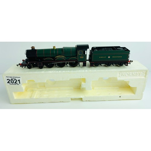 2021 - Hornby (China) GWR 4-6-0 'Tregenna Castle' 5006 Loco - Limited Edition Cert No.279 / 1500 (Split fro...