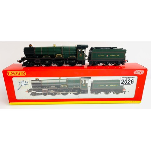 2026 - Hornby R2390 GWR 4-6-0 'King Henry II' Loco - Boxed P&P Group 1 (£14+VAT for the first lot and £1+VA...