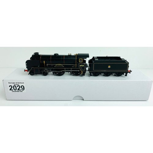2029 - Hornby (China Super Detail) 'Haileybury' BR Black 30924 BR Lined Black - With Detail Pack - Suplied ...