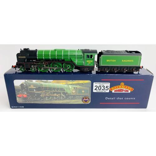 2035 - Bachmann 32-554 Class A1 60114 'W P Allen' Doncaster Green British Railways Loco - Boxed P&P Group 1...