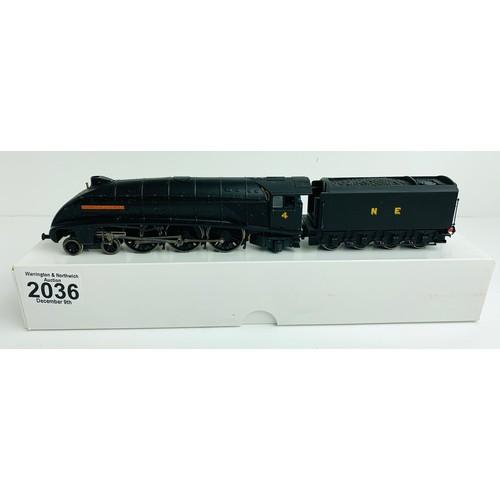 2036 - Bachmann A4 Class 'William Whitelaw' NE Wartime Black No.4 - Supplied in Custom Plain White Box P&P ...