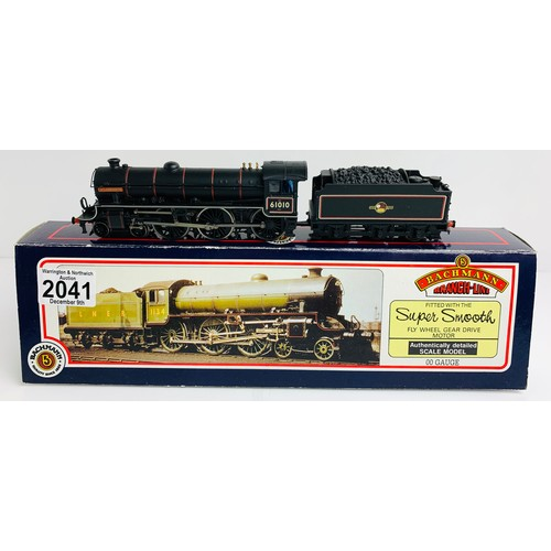 2041 - Bachmann 31-703 B1 61010 'Wildebeeste' BR Lined Black 'Late Crest' Loco - Boxed P&P Group 1 (£14+VAT...