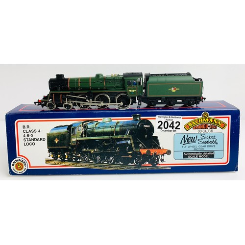 2042 - Bachmann 31-104 BR Class 4 BR Green Loco - Boxed P&P Group 1 (£14+VAT for the first lot and £1+VAT f...