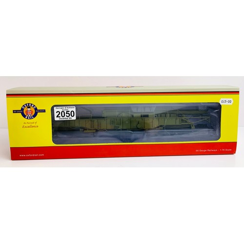 2050 - Oxford Rail OR76BOOM02 Railgun Gladiator WWII - Boxed P&P Group 1 (£14+VAT for the first lot and £1+...