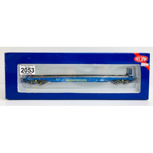 2053 - Heljan 17005101 'Cargowaggon' - Boxed OO Gauge P&P Group 1 (£14+VAT for the first lot and £1+VAT for...