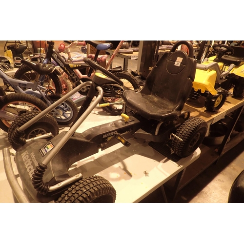 38 - Original Kettcar (nitro) childs go kart. Not available for in-house P&P...