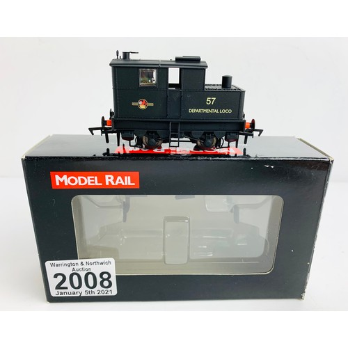2008 - Model Rail OO Gauge Locomotive Boxed P&P Group 1 (£14+VAT for the first lot and £1+VAT for subsequen...