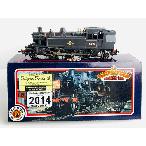 2014 - Bachmann OO Gauge Ivatt Locomotive Boxed P&P Group 1 (£14+VAT for the first lot and £1+VAT for subse...