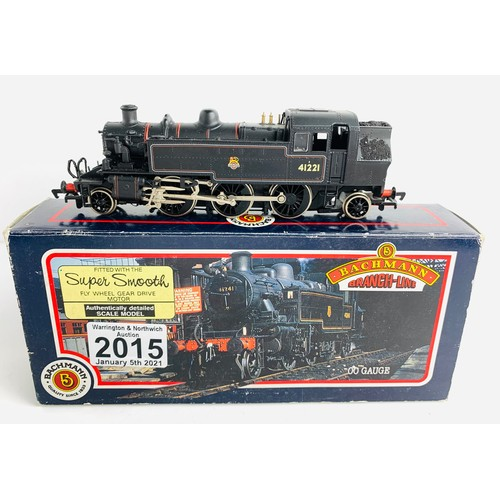 2015 - Bachmann OO Gauge Ivatt 2-6-2 Locomotive Boxed P&P Group 1 (£14+VAT for the first lot and £1+VAT for...