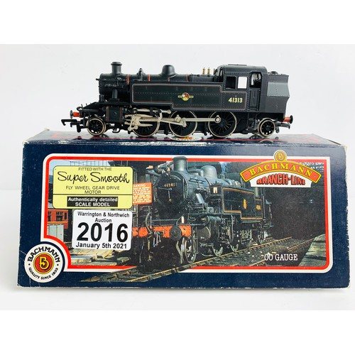 2016 - Bachmann OO Gauge Ivatt Locomotive Boxed P&P Group 1 (£14+VAT for the first lot and £1+VAT for subse...