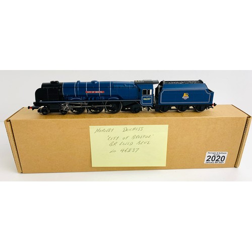 2020 - Hornby OO Gauge City of Bristol Locomotive P&P Group 1 (£14+VAT for the first lot and £1+VAT for sub...
