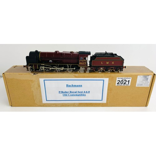 2021 - Bachmann OO Gauge Royal Scot  Locomotive P&P Group 1 (£14+VAT for the first lot and £1+VAT for subse...