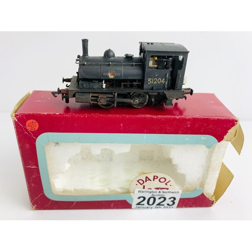 2023 - Dapol OO Gauge BR Pug Locomotive Boxed P&P Group 1 (£14+VAT for the first lot and £1+VAT for subsequ...