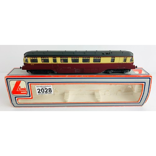 2028 - Lima OO Gauge Railcar Locomotive Boxed P&P Group 1 (£14+VAT for the first lot and £1+VAT for subsequ...