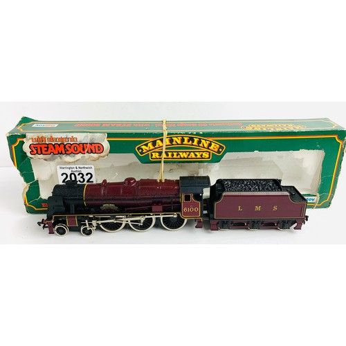 2032 - Mainline OO Gauge Royal Scot Locomotive Boxed P&P Group 1 (£14+VAT for the first lot and £1+VAT for ...