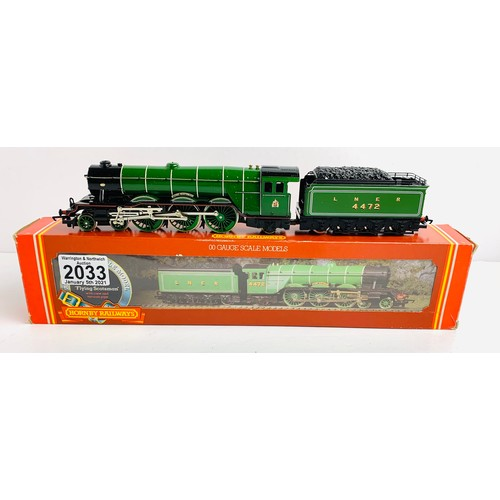 2033 - Hornby OO Gauge Flying Scotsman Locomotive Boxed P&P Group 1 (£14+VAT for the first lot and £1+VAT f...