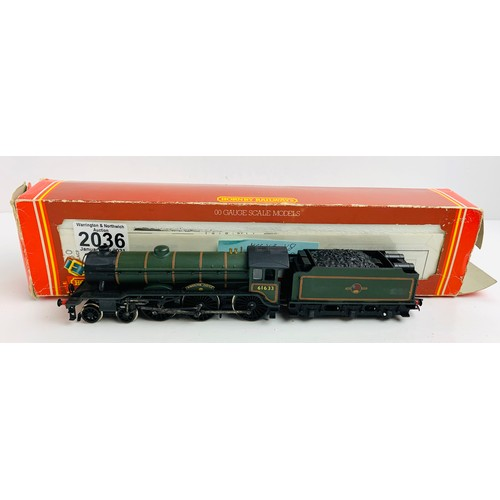 2036 - Hornby OO GaugeKimbolton Castle Locomotive Boxed P&P Group 1 (£14+VAT for the first lot and £1+VAT f...