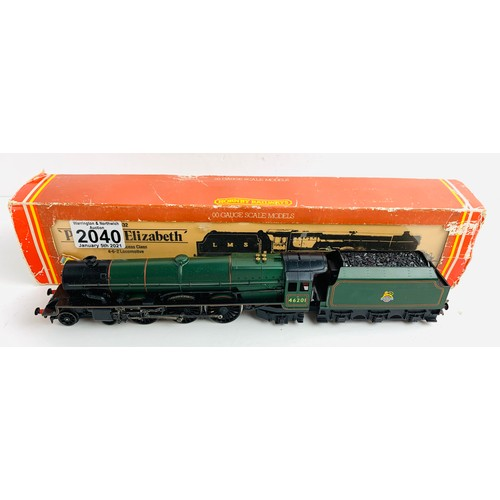2040 - Hornby OO Gauge Princess Elizabeth Locomotive Boxed P&P Group 1 (£14+VAT for the first lot and £1+VA...