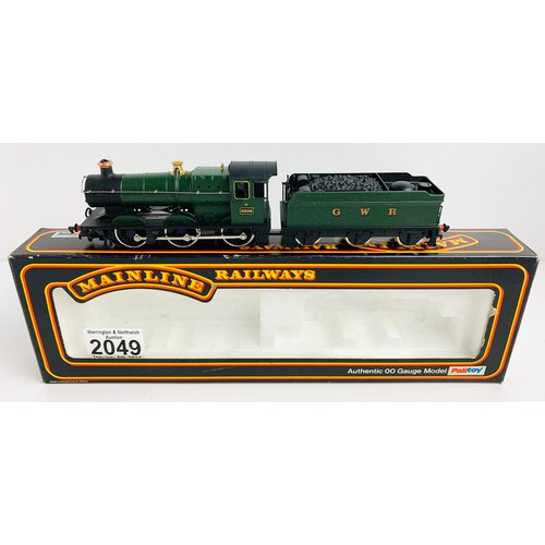2049 - Mainline OO Gauge Collett Class  Locomotive Boxed P&P Group 1 (£14+VAT for the first lot and £1+VAT ...