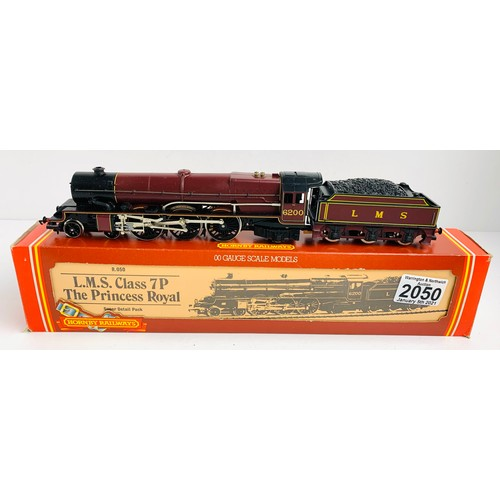 2050 - Hornby OO Gauge The Princess Royal Locomotive Boxed P&P Group 1 (£14+VAT for the first lot and £1+VA...