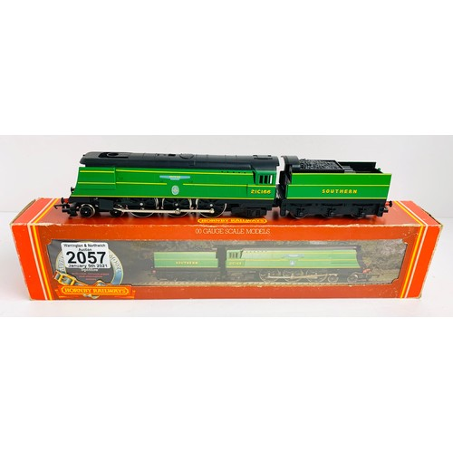 2057 - Hornby OO Gauge Spitfire Locomotive Boxed P&P Group 1 (£14+VAT for the first lot and £1+VAT for subs...