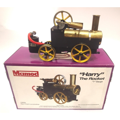 2214 - Mamod Harry the Rocket locomotive, gauge 1, gas fired Live Steam, this is one of the rarest Mamods t...