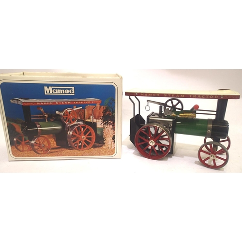 2215 - Mamod TELA traction engine in very good-excellent condition, some corrosion/tarnishing marks, appear...